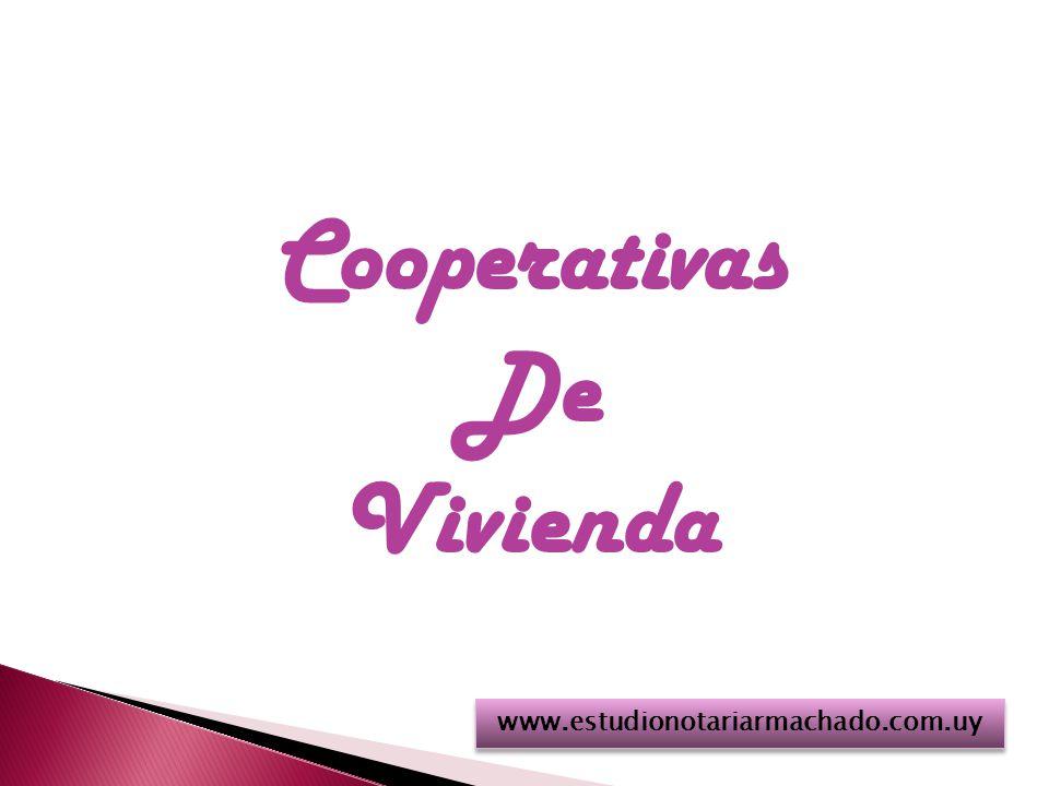 Cooperativas De Vivienda