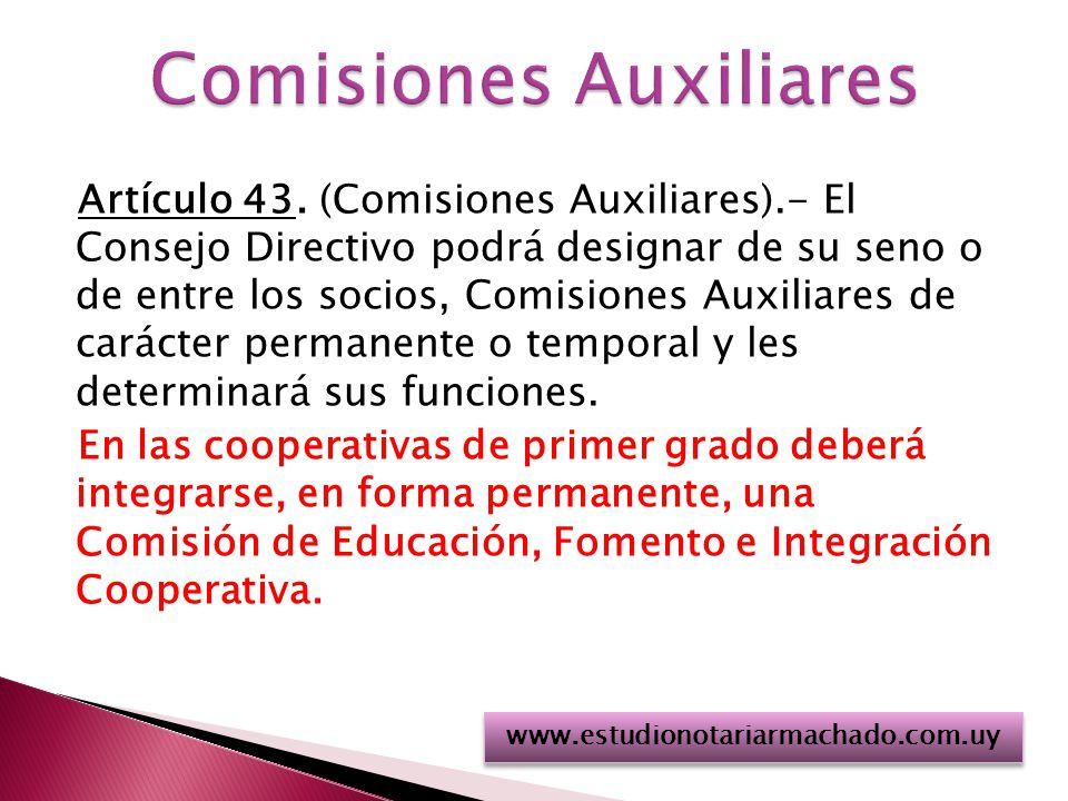 Comisiones Auxiliares