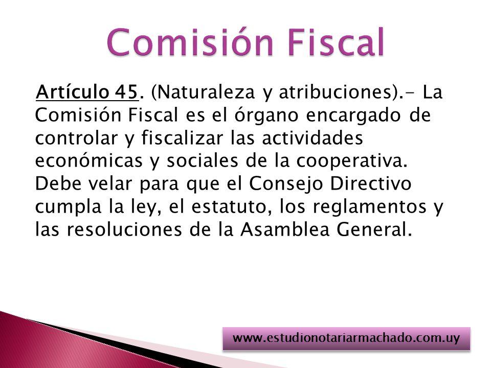 Comisión Fiscal