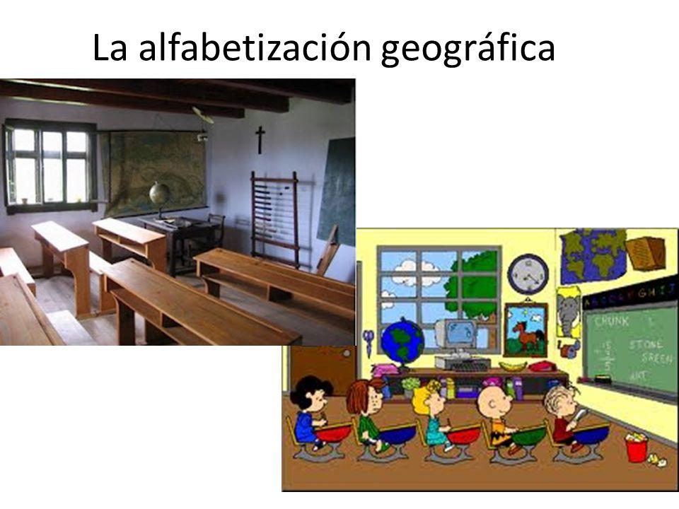 La alfabetización geográfica