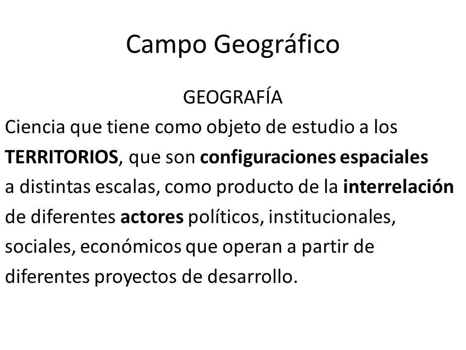 Campo Geográfico