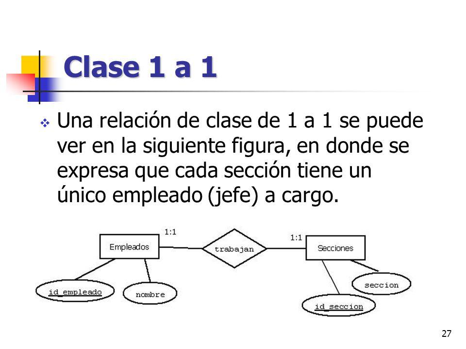 Clase 1 a 1