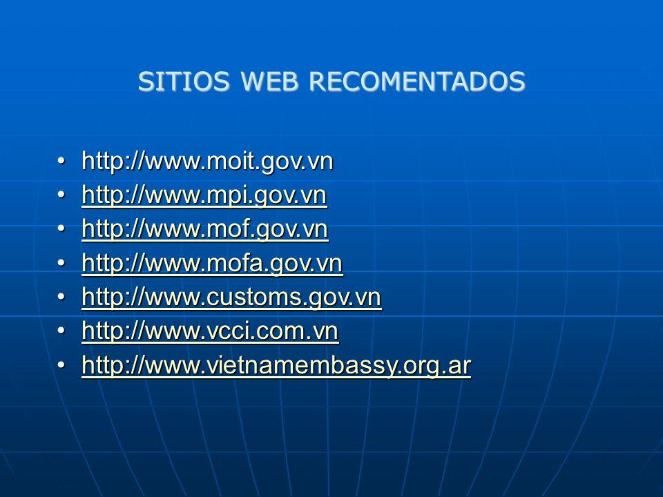 SITIOS WEB RECOMENTADOS