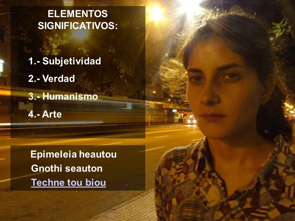 ELEMENTOS SIGNIFICATIVOS: