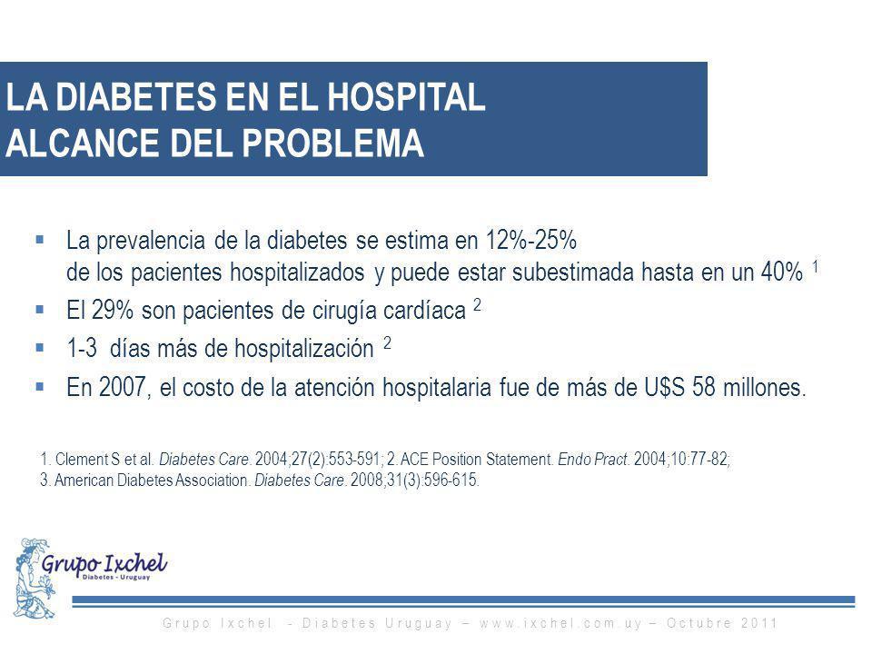 LA DIABETES EN EL HOSPITAL ALCANCE DEL PROBLEMA