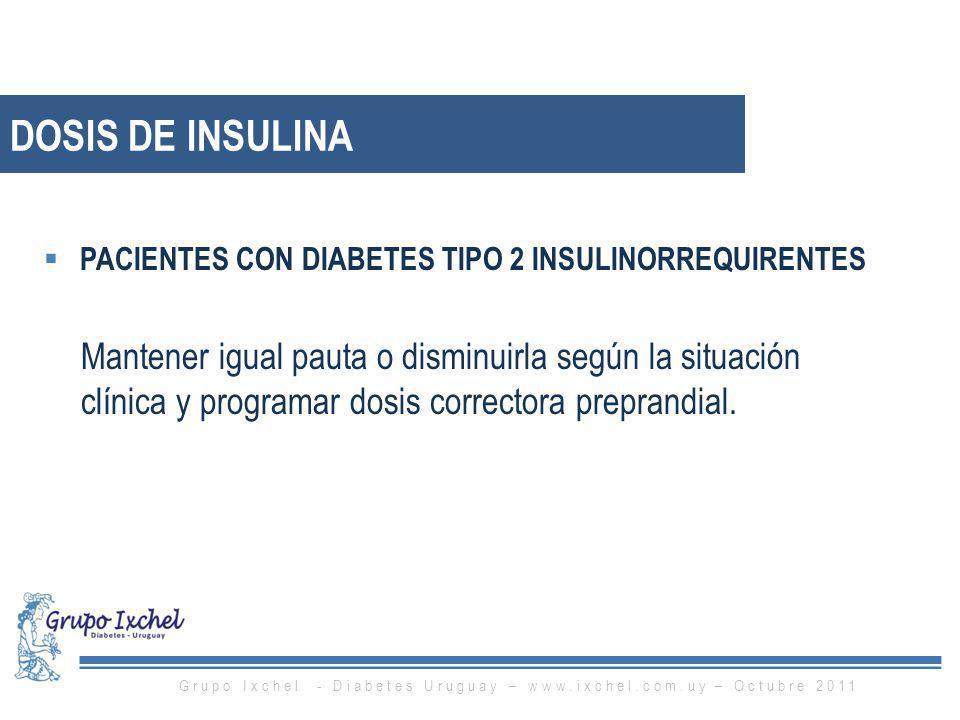 Grupo Ixchel - Diabetes Uruguay – www.ixchel.com.uy – Octubre 2011