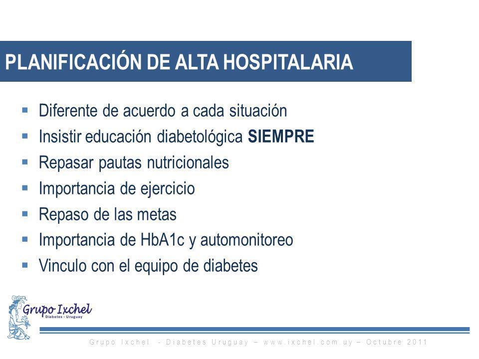 Planificación de alta hospitalaria