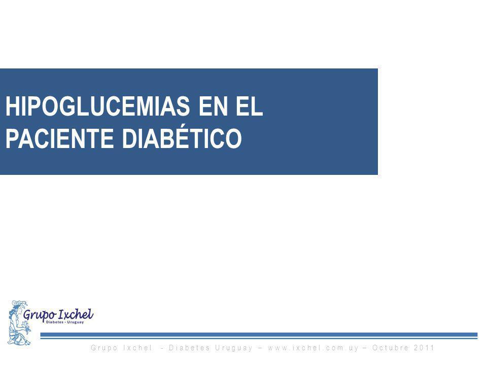 HIPOGLUCEMIAS EN EL PACIENTE DIABÉTICO
