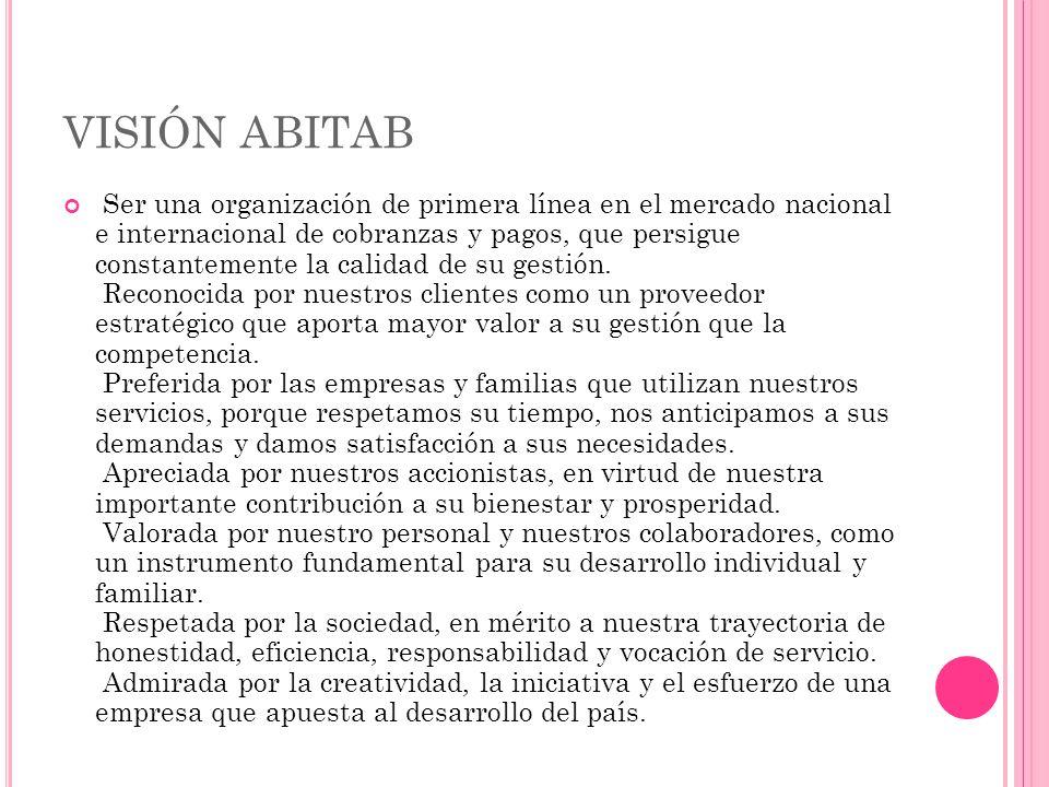 VISIÓN ABITAB