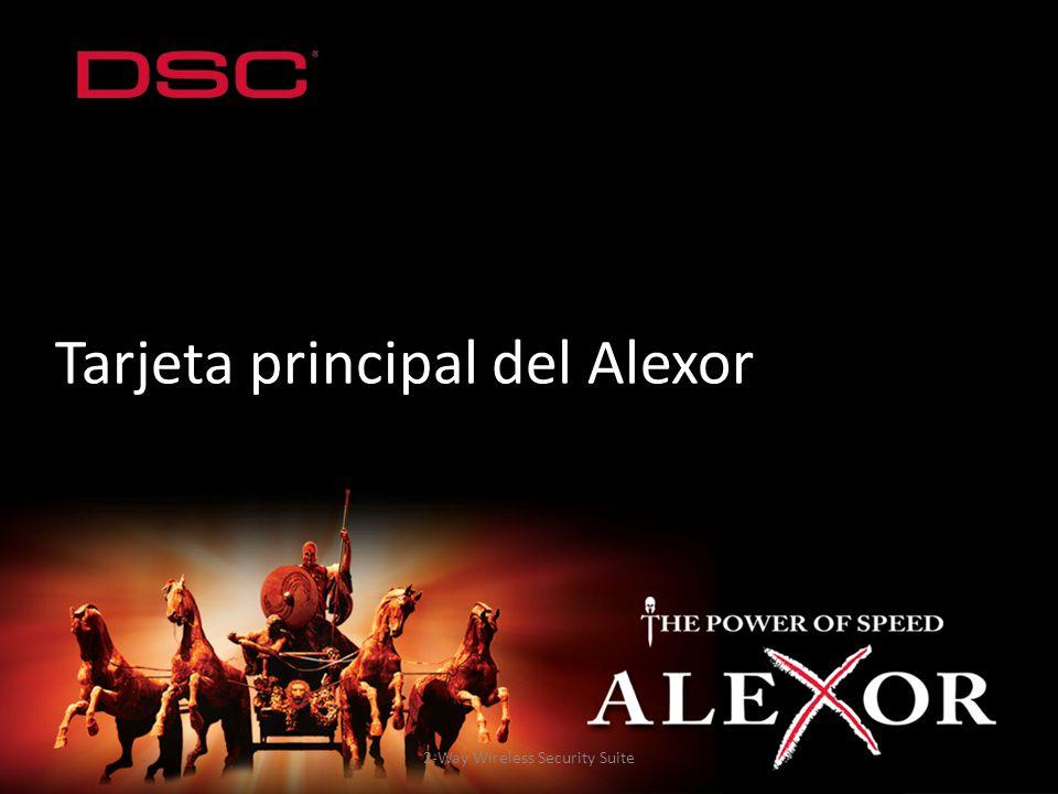 Tarjeta principal del Alexor