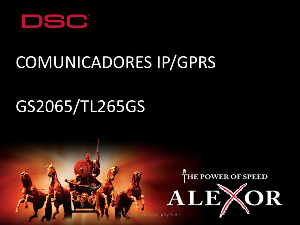 COMUNICADORES IP/GPRS GS2065/TL265GS