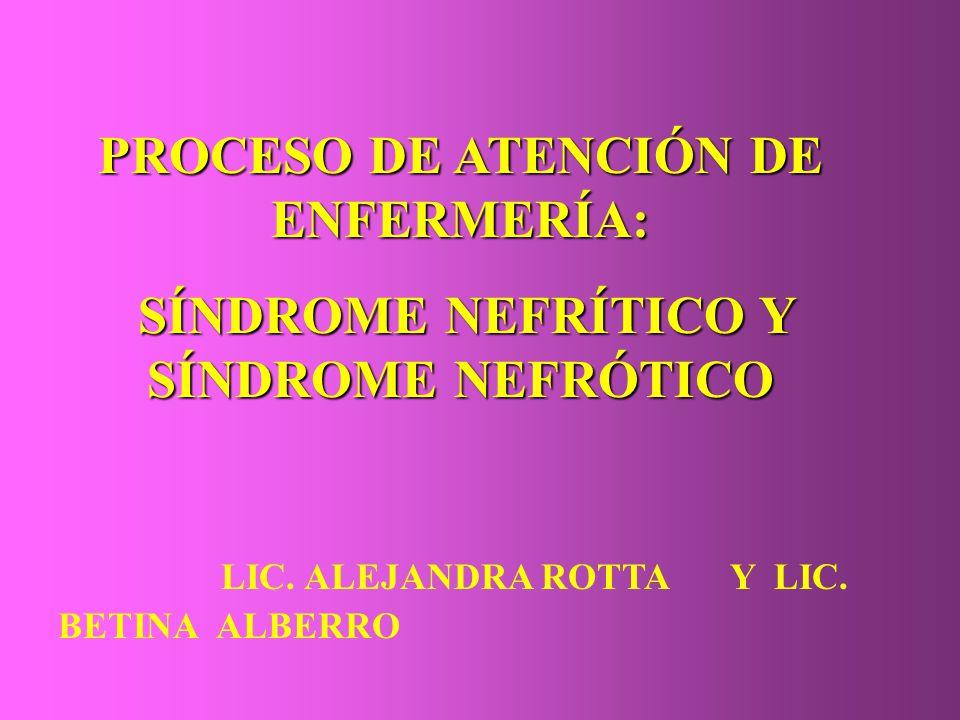 PROCESO DE ATENCIÓN DE ENFERMERÍA: