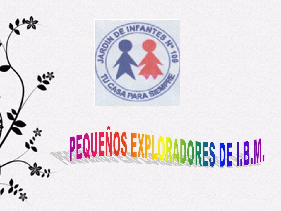 PEQUEÑOS EXPLORADORES DE I.B.M.