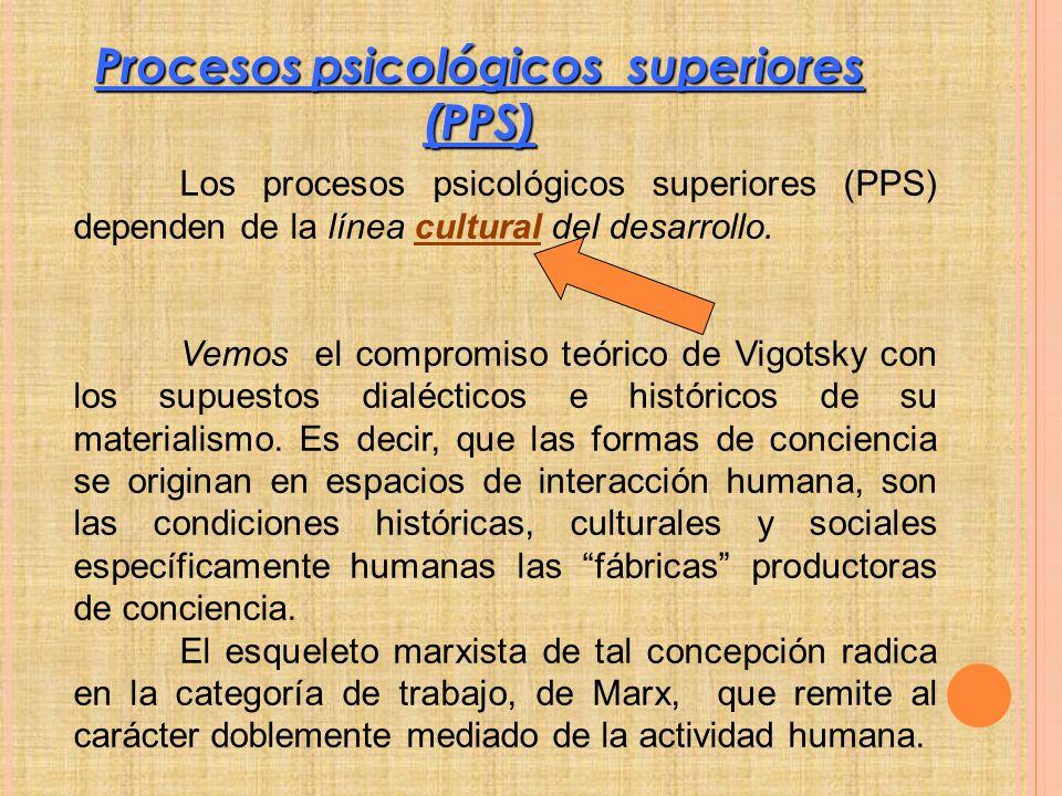 Procesos psicológicos superiores (PPS)