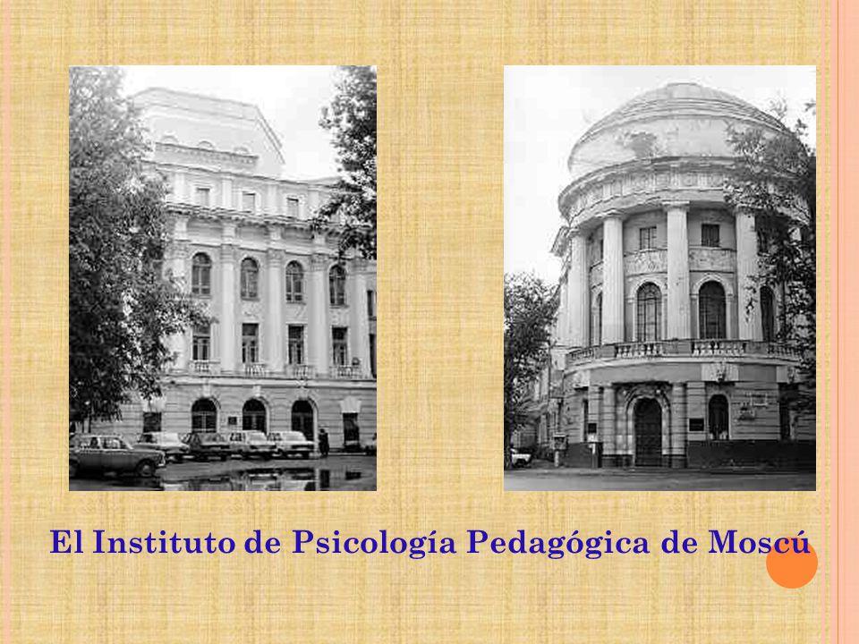 El Instituto de Psicología Pedagógica de Moscú