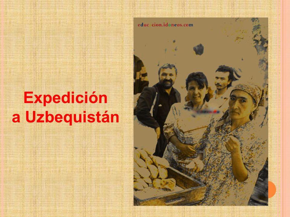 Expedición a Uzbequistán