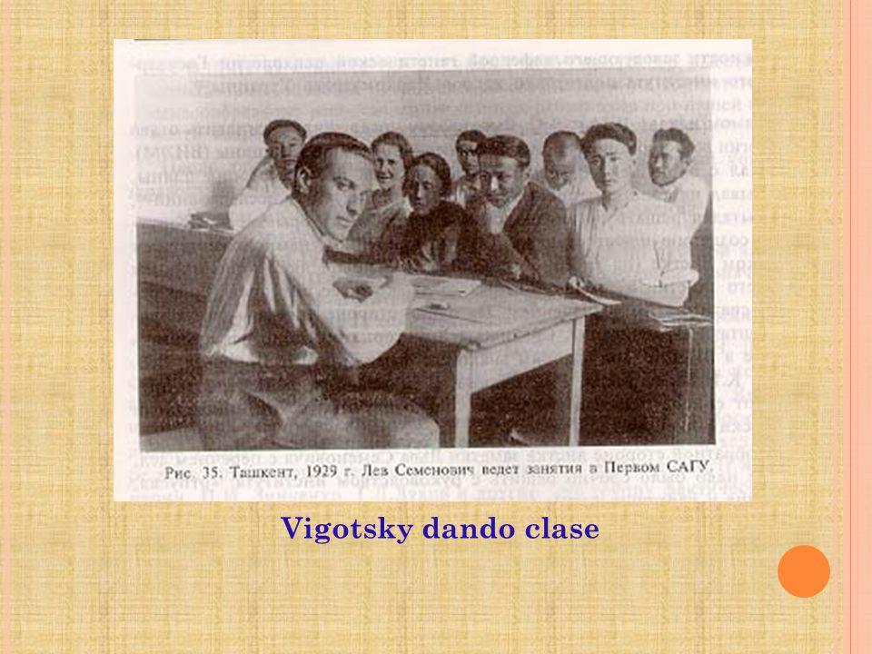 Vigotsky dando clase