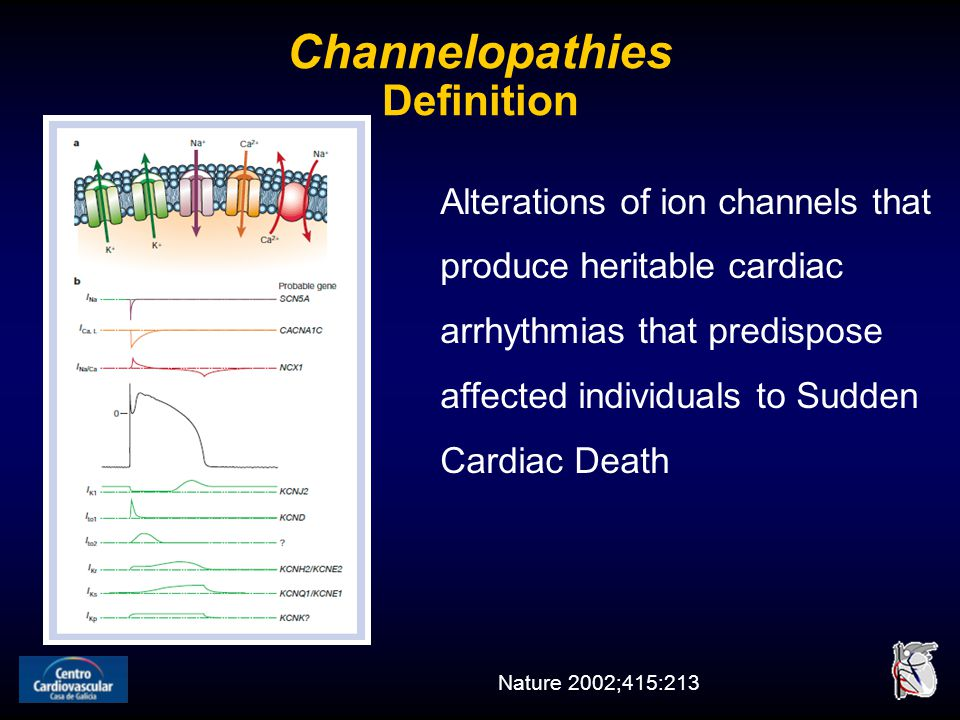 Channelopathies Definition