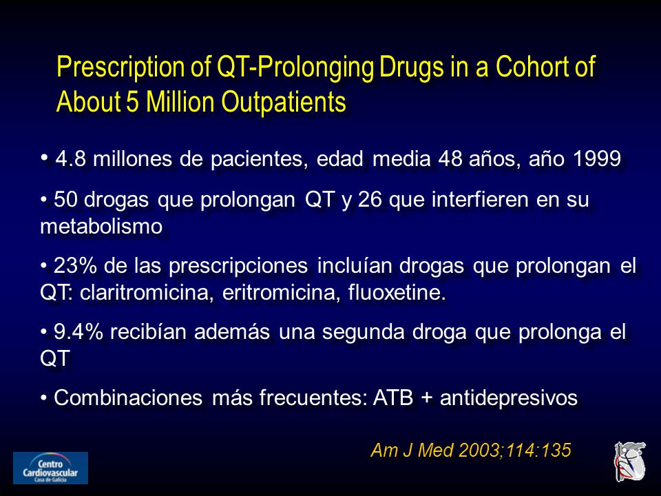 Prescription of QT-Prolonging Drugs in a Cohort of About 5 Million Outpatients