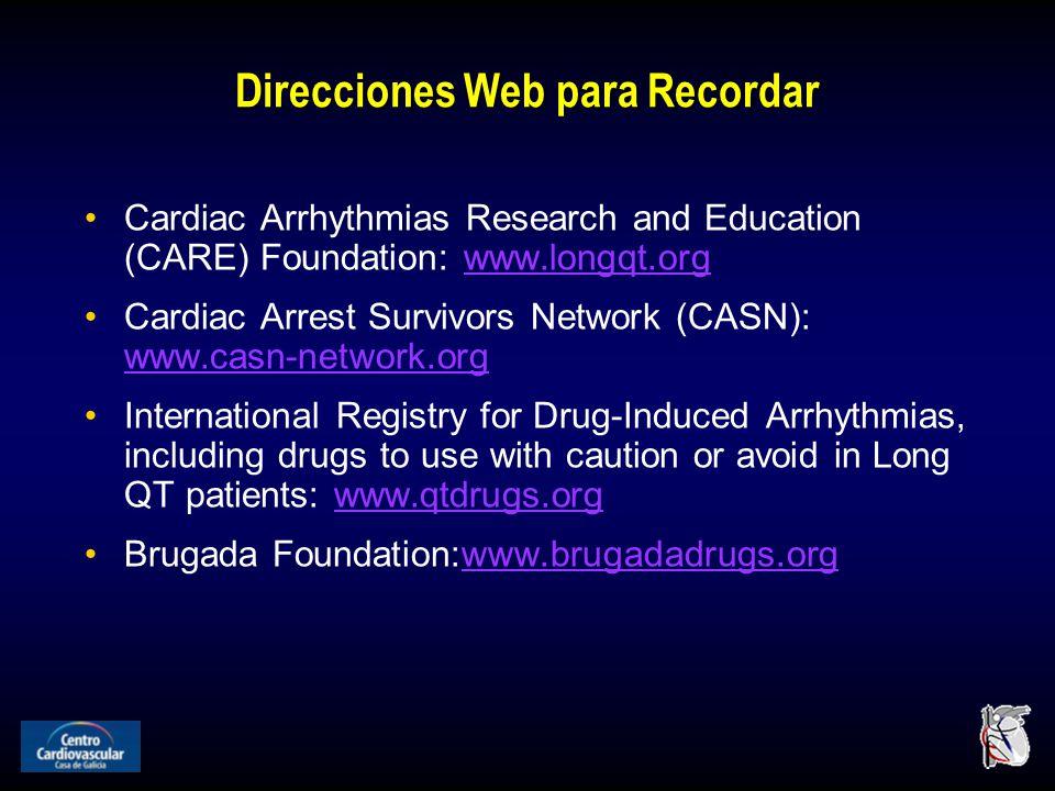 Direcciones Web para Recordar