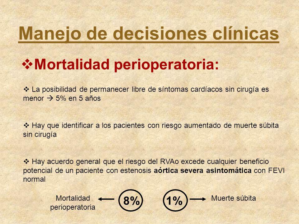 Mortalidad perioperatoria