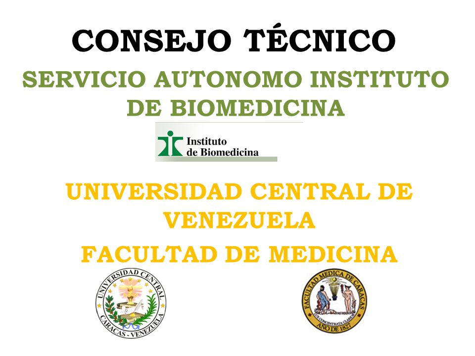 SERVICIO AUTONOMO INSTITUTO DE BIOMEDICINA
