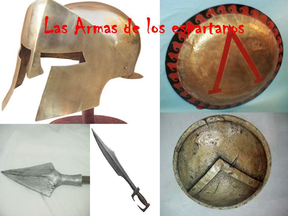Las Armas de los espartanos