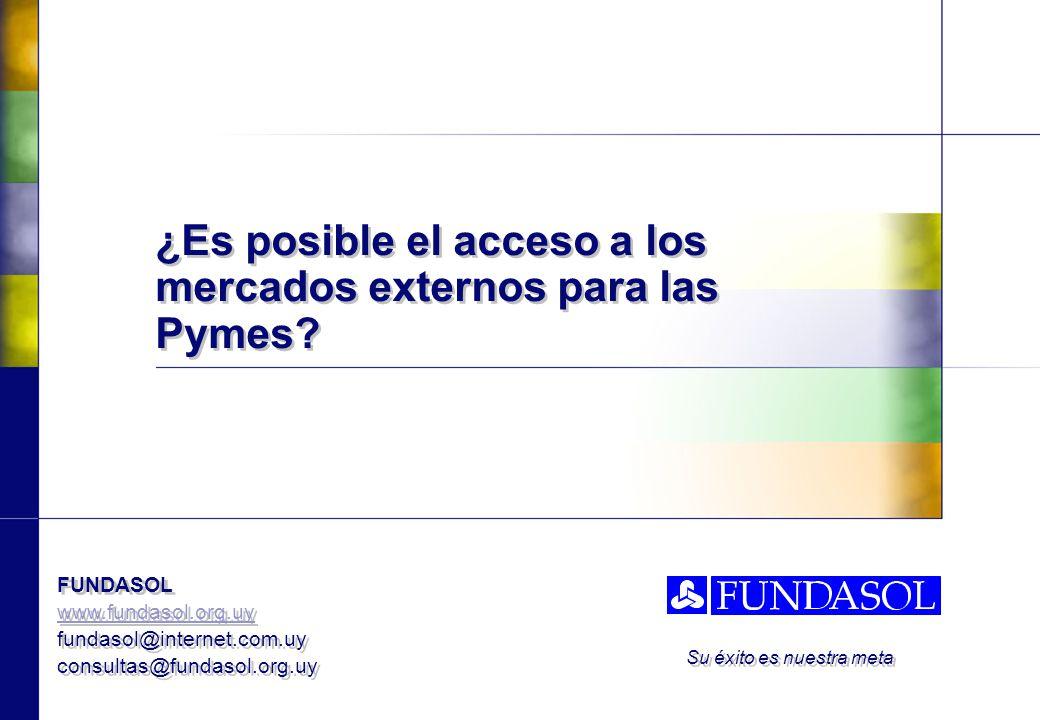 ¿Es posible el acceso a los mercados externos para las Pymes