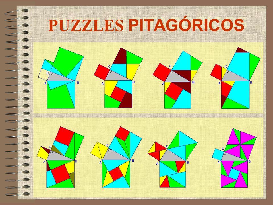 PUZZLES PITAGÓRICOS
