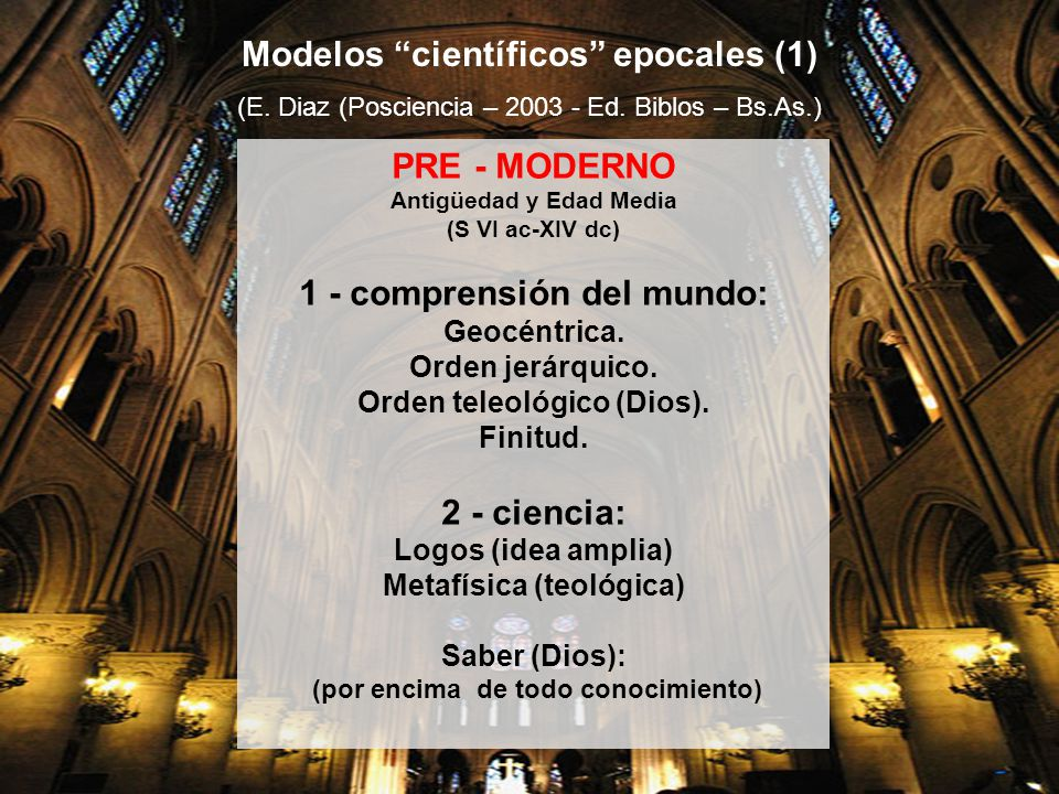 Modelos científicos epocales (1)