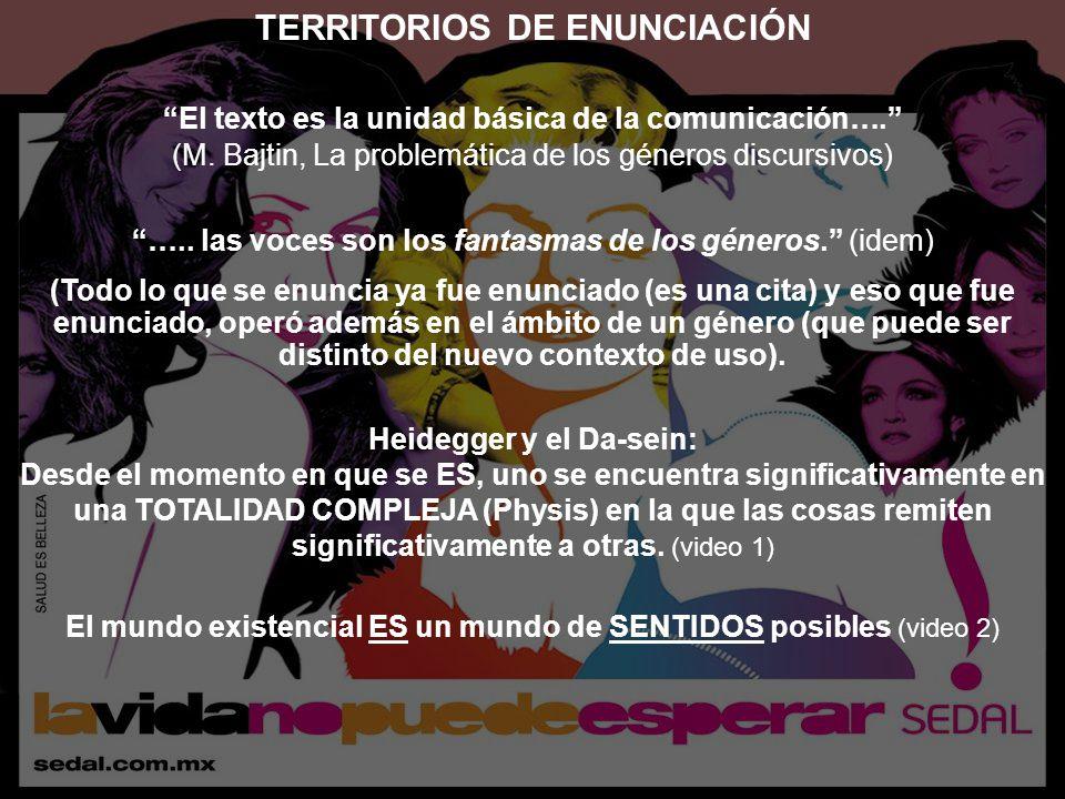 TERRITORIOS DE ENUNCIACIÓN