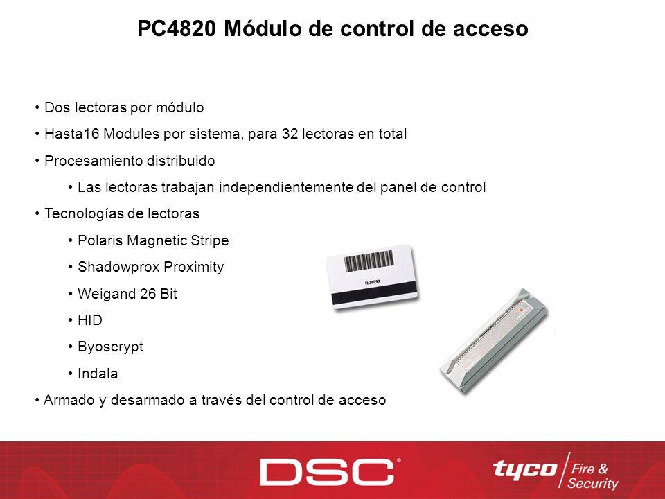 PC4820 Módulo de control de acceso