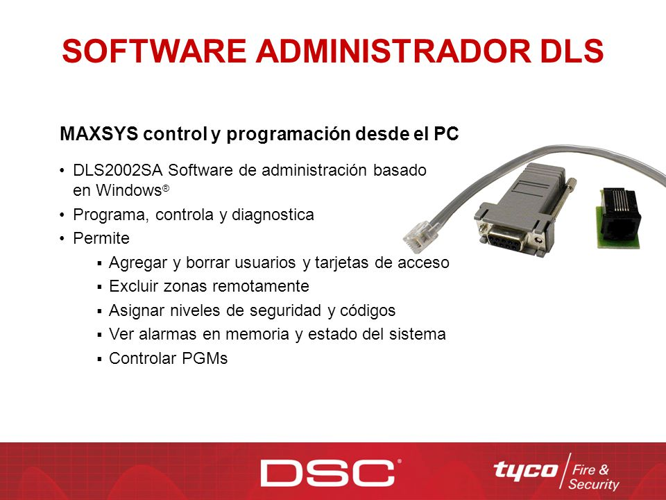 SOFTWARE ADMINISTRADOR DLS