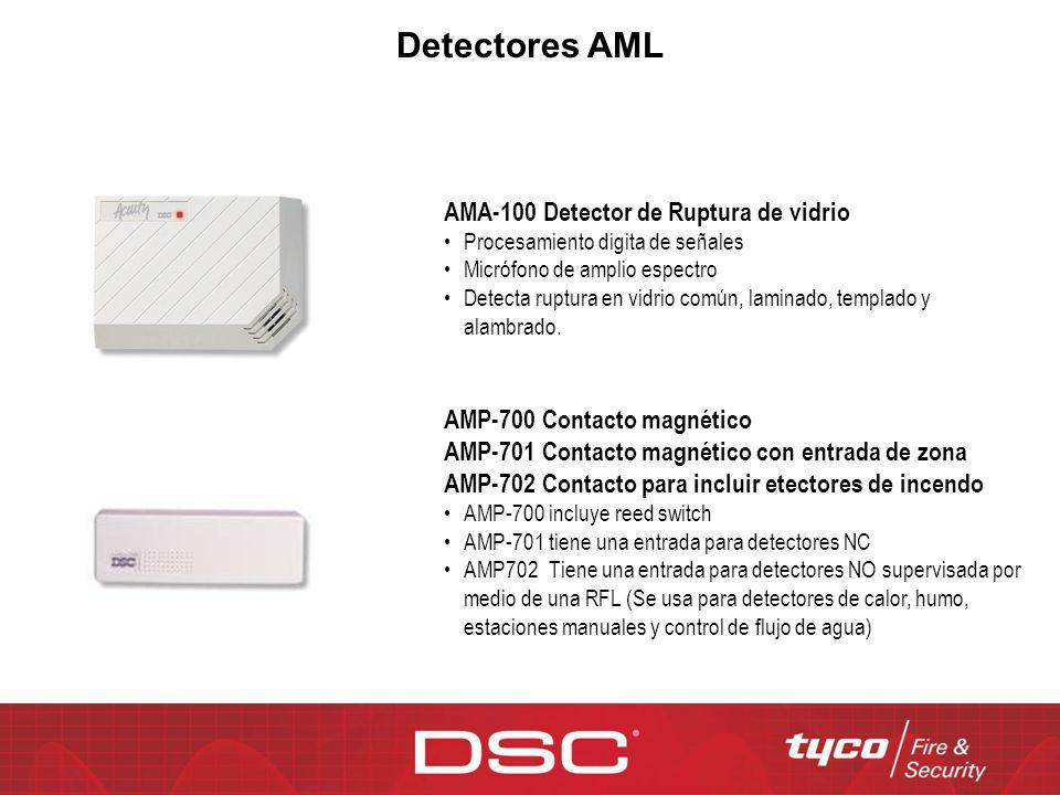Detectores AML AMA-100 Detector de Ruptura de vidrio