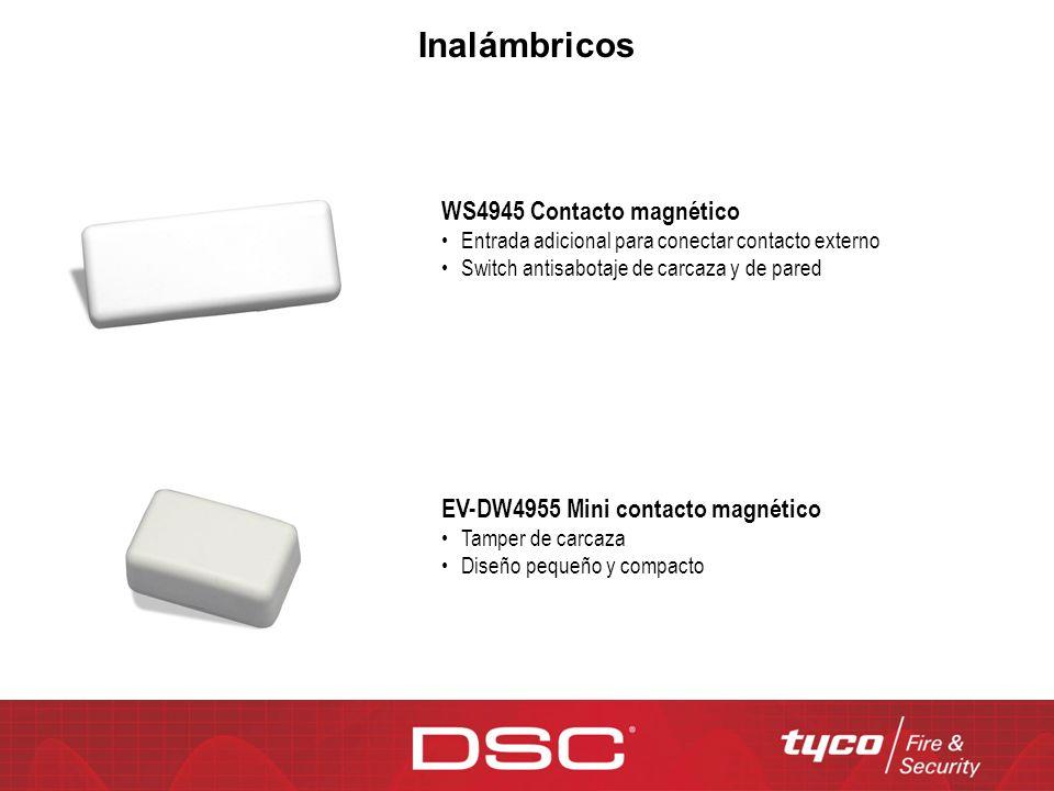 Inalámbricos WS4945 Contacto magnético