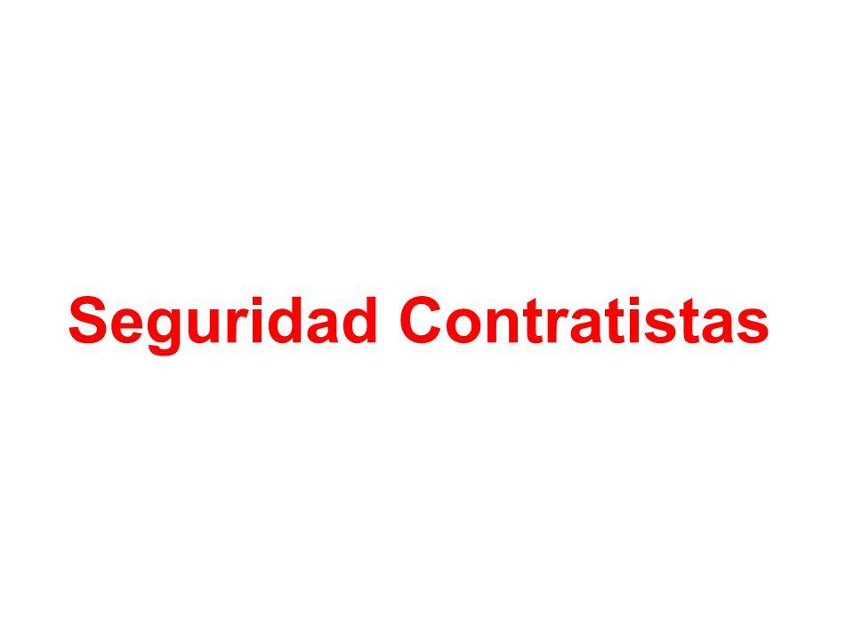 Seguridad Contratistas
