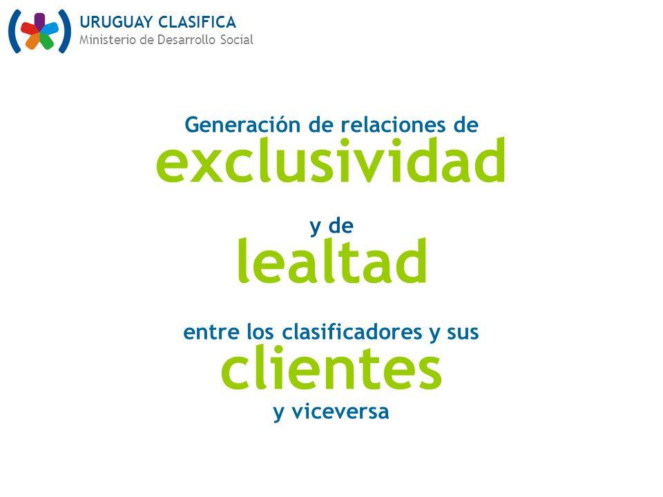 Generación de relaciones de entre los clasificadores y sus