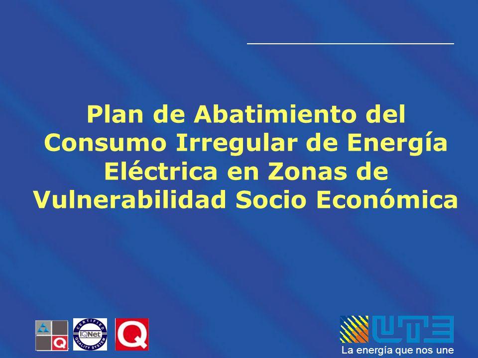 Plan de Abatimiento del Consumo Irregular de Energía Eléctrica en Zonas de Vulnerabilidad Socio Económica