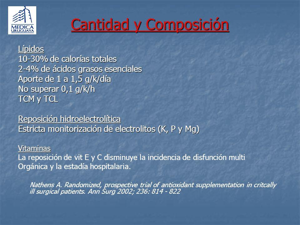 Cantidad y Composición