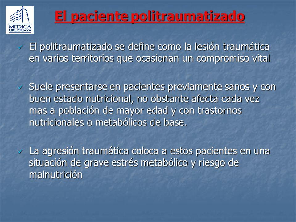 El paciente politraumatizado