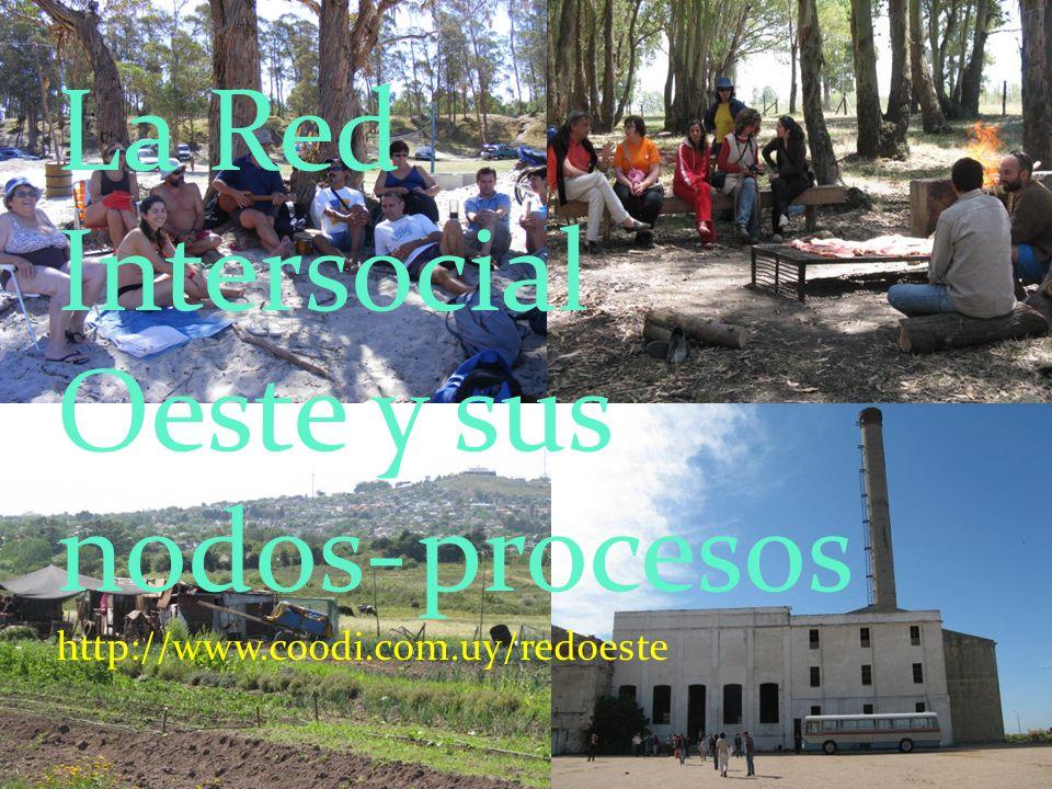 La Red Intersocial Oeste y sus nodos- procesos http://www. coodi. com