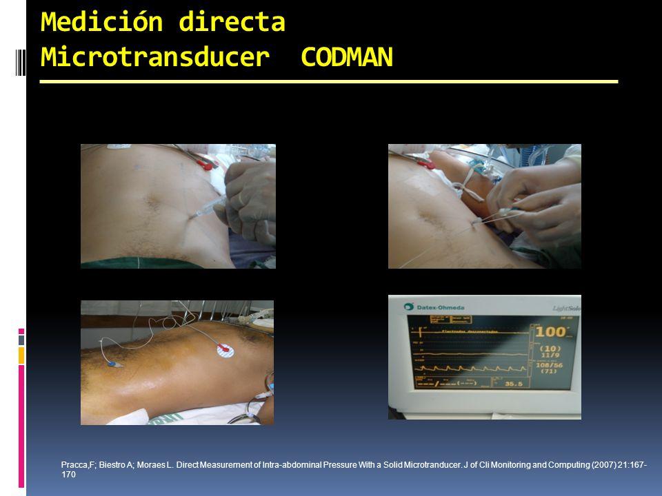 Medición directa Microtransducer CODMAN
