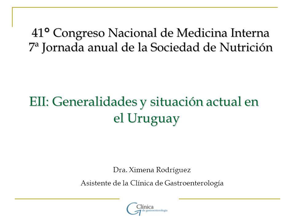 EII: Generalidades y situación actual en el Uruguay