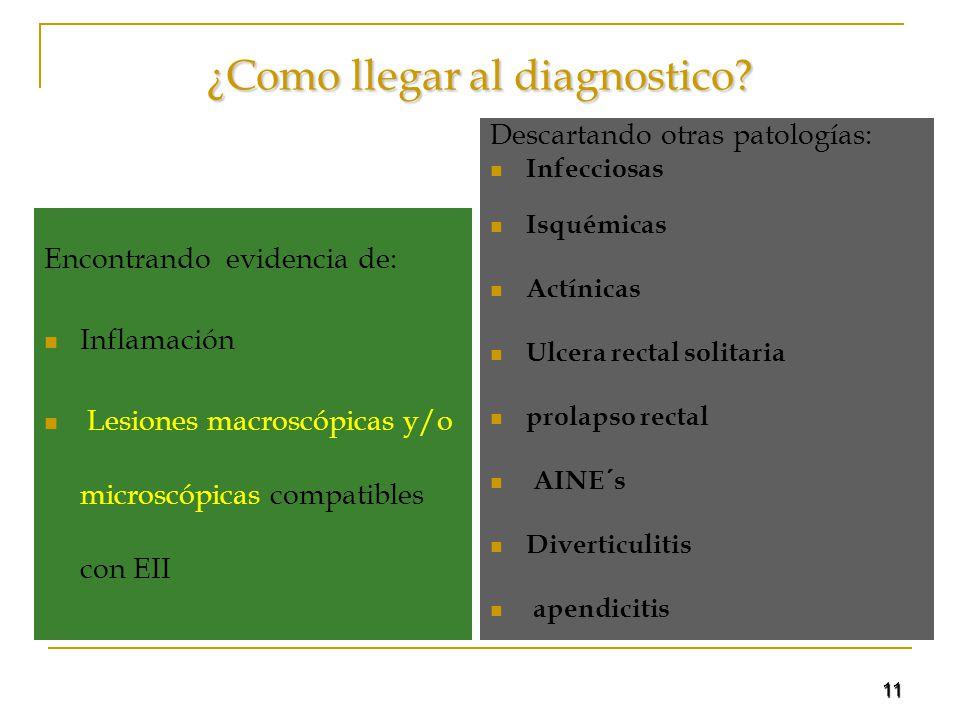 ¿Como llegar al diagnostico