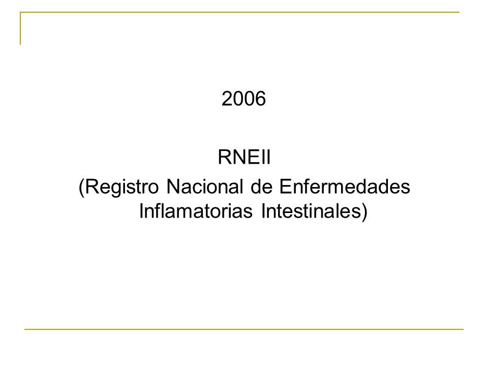 (Registro Nacional de Enfermedades Inflamatorias Intestinales)