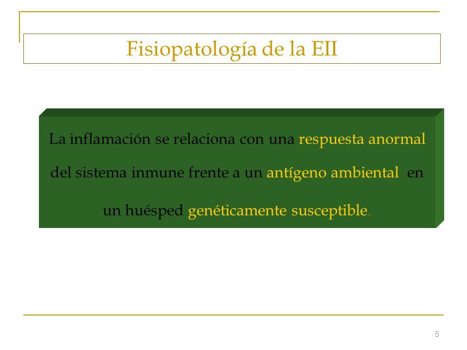 Fisiopatología de la EII