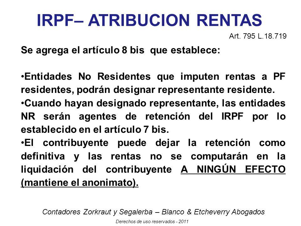 IRPF– ATRIBUCION RENTAS