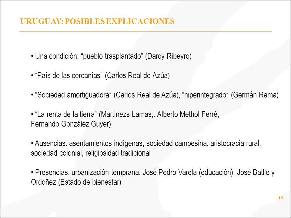 URUGUAY: POSIBLES EXPLICACIONES