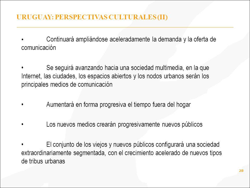 URUGUAY: PERSPECTIVAS CULTURALES (II)