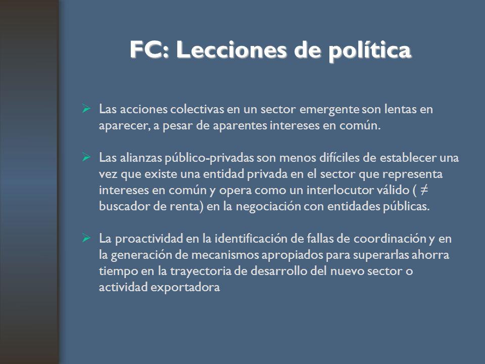 FC: Lecciones de política